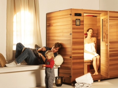 Advantages of Installing a Home Sauna Picture
