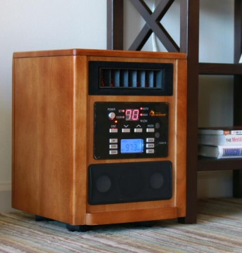 Advantages of Using an Infrared Space Heater Picture