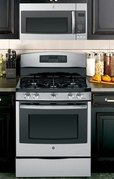 Can You Place an Over the Range Microwave Above a Gas Stove Picture